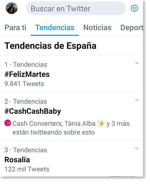 trending topic Cash Converters