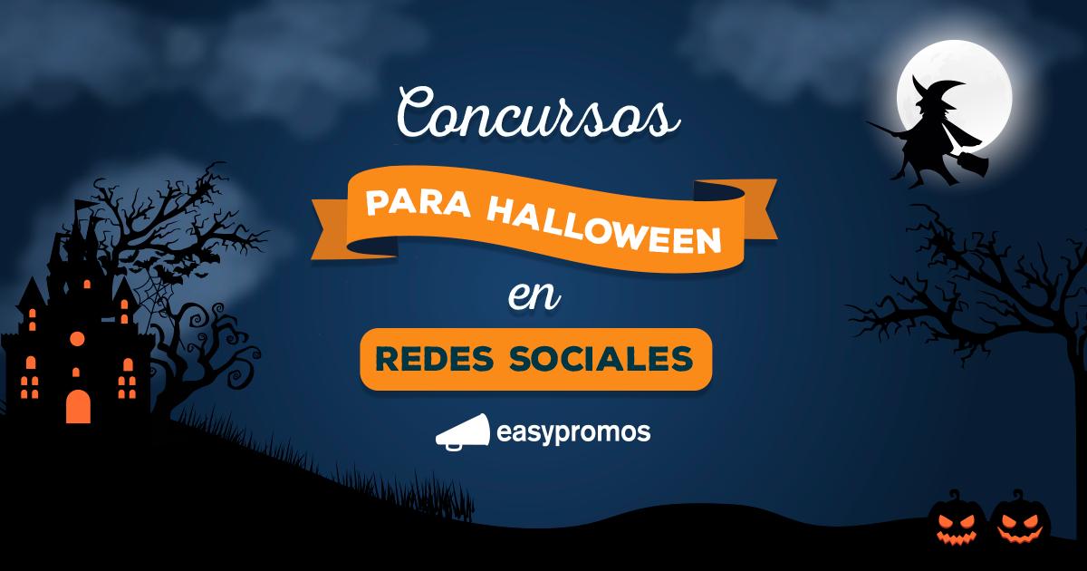 ejemplos de concursos de halloween